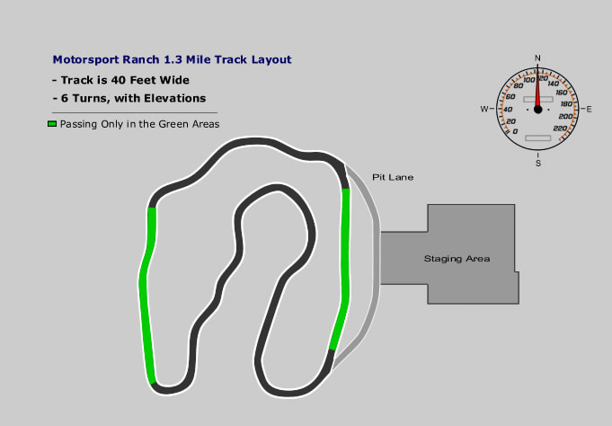 1 3 Mile Road Course Motorsport Ranch